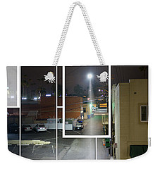 Night Street Weekender Tote Bag