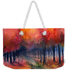 Night Time Among The Maples Weekender Tote Bag