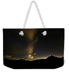 Night Time At Palo Duro Canyon State Park - Texas Weekender Tote Bag