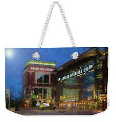 Night Time Lambeau Weekender Tote Bag
