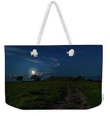 Night Time Weekender Tote Bag