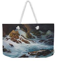 Night Time Sea Weekender Tote Bag