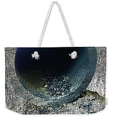 Weekender Tote Bag featuring the mixed media Night by Tony Rubino