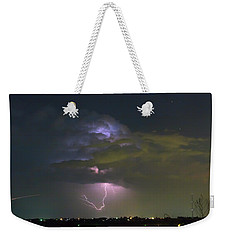 Weekender Tote Bag featuring the photograph Night Tripper by James BO Insogna