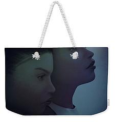 Night Twins Weekender Tote Bag