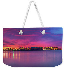 Weekender Tote Bag featuring the photograph Night Unto Day by Edward Kreis