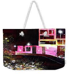 Night Walk Weekender Tote Bag