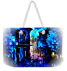Night Walking In New Orleans Weekender Tote Bag