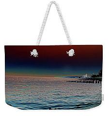 Night Winds And Waves Weekender Tote Bag