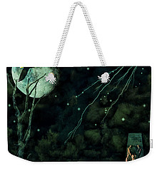 Night Wings Weekender Tote Bag by Ken Frischkorn