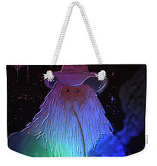 Weekender Tote Bag featuring the painting Night Wizard by Kevin Caudill