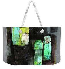 Texture Of Night Painting Weekender Tote Bag by Behzad Sohrabi