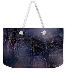 Weekender Tote Bag featuring the photograph Nightfall In The Woods by Sandy Moulder