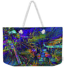 Nightime Movement Weekender Tote Bag by David Pantuso