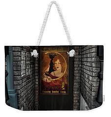 Nightlife Behind Secret Doors Weekender Tote Bag by Luis Rosario