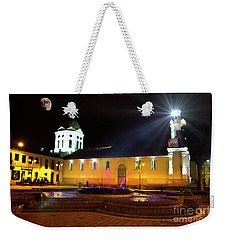 Weekender Tote Bag featuring the photograph Nighttime At San Sebastian by Al Bourassa