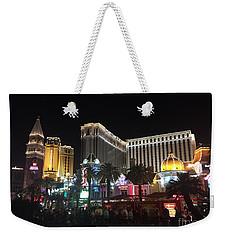 Nighttime Glimmer Weekender Tote Bag
