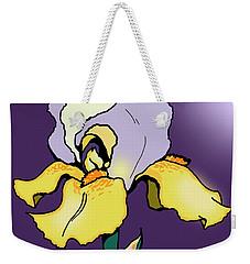 Nighttime Iris Weekender Tote Bag