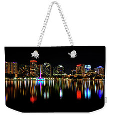 Nighttime Lake Eloa Weekender Tote Bag