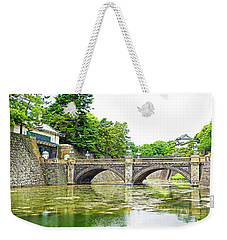 Nijubashi Bridge Weekender Tote Bag