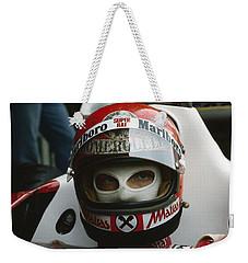 Niki Lauda. 1977 Austrian Grand Prix Weekender Tote Bag