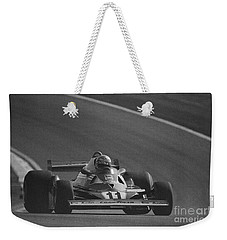 Niki Lauda. 1977 French Grand Prix Weekender Tote Bag
