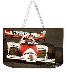 Niki Lauda. 1984 Dutch Grand Prix Weekender Tote Bag