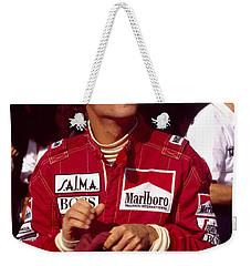 Niki Lauda. Marlboro Mclaren International Weekender Tote Bag