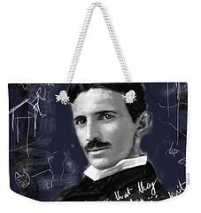 Nikola Weekender Tote Bag