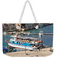 Nikos Express At Emborio Weekender Tote Bag