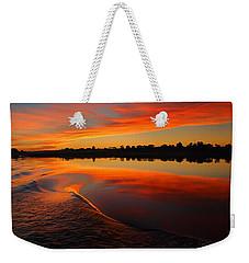 Nile Sunset Weekender Tote Bag