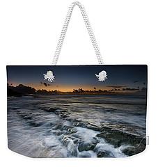 Nimitz Beach Sunrise Weekender Tote Bag