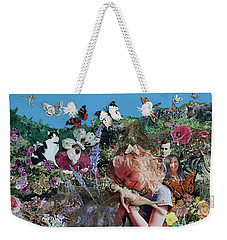 Nina Found A Fairy Weekender Tote Bag