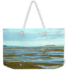Nisqually Looking North Weekender Tote Bag