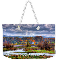 Nisqually Wildlife Refuge P34 Weekender Tote Bag by David Patterson