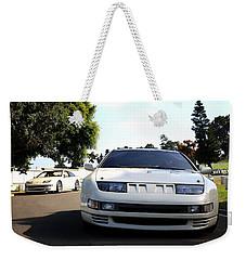 Nissan 300zx Weekender Tote Bag