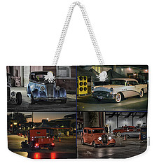 Weekender Tote Bag featuring the photograph Nite Shots At Cure by Bill Dutting