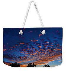 Nitrogen Sunrise Weekender Tote Bag by Mark Blauhoefer