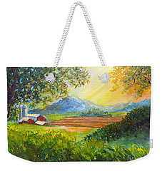 Nixon's Majestic Farm View Weekender Tote Bag by Lee Nixon