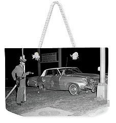 Nj Police Officer Weekender Tote Bag by Paul Seymour