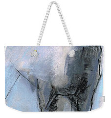 Weekender Tote Bag featuring the drawing Nm Sketch Bw by Frances Marino