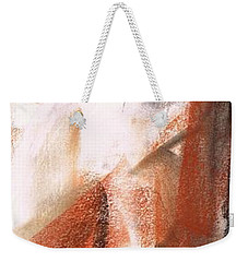 Weekender Tote Bag featuring the painting The Horse Within  by Frances Marino