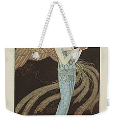 No. 9  Sortileges Robe Du Soir, De Beer, George Barbier, 1922 Weekender Tote Bag