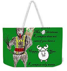 No Happy Gnu Year Weekender Tote Bag