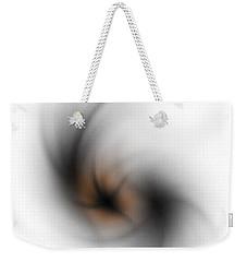 Weekender Tote Bag featuring the digital art No Light by John Krakora