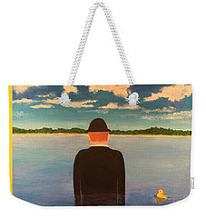 No Man Is An Island T-shirt Weekender Tote Bag by Thomas Blood