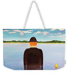 No Man Is An Island Weekender Tote Bag