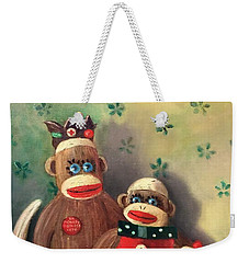 No Monkey Business Here 2 Weekender Tote Bag