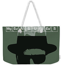No More Half Measures - Breaking Bad Poster Walter White Quote Weekender Tote Bag