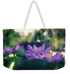 No Mud, No Lotus Weekender Tote Bag